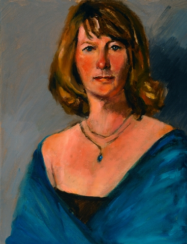 Woman with Blue Topaz