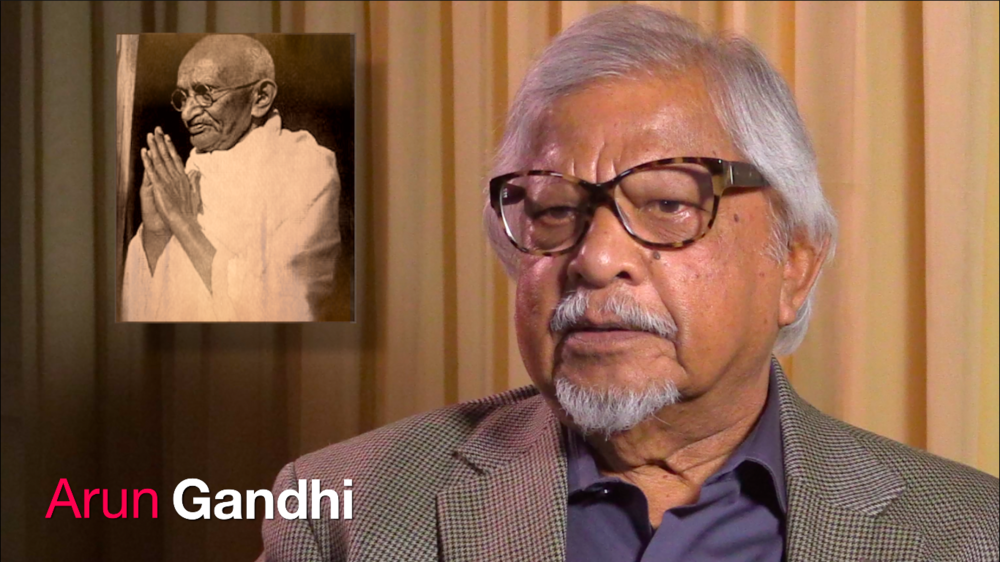 Arun Gandhi OMNIA Institute Interview on Leadership and the Gift of Anger