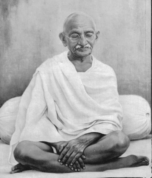 Mahatma Gandhi: wiki commons