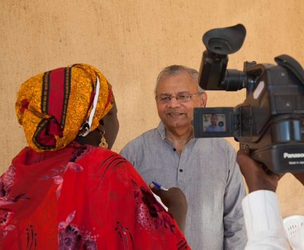 Omnia President interviewed by Nigerian press during ONNIA Training Event.