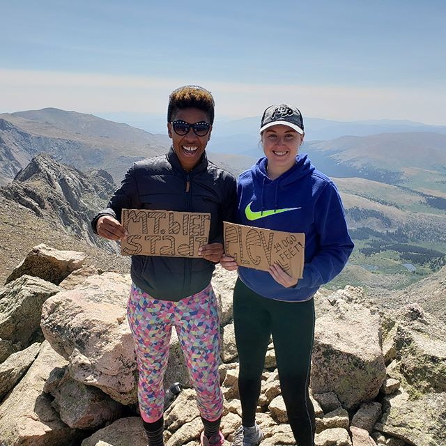 14,000 ft with @short_sharp_shock