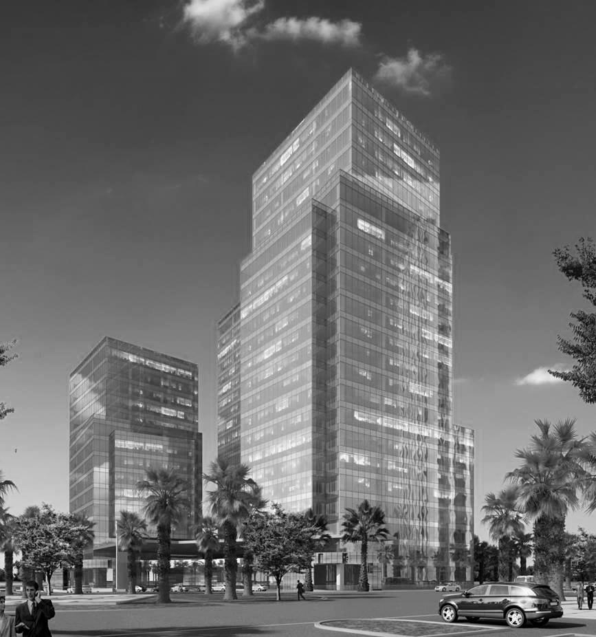 Downtown Santa Fe PROYECTO Venta de Oficinas Corporativas, diseñadas bajo los más altos estándares internacionales de calidad, con plantas desde 800 y hasta 1400 M2 con el 95% de eficiencia en su distribución, 6 elevadores de 21 pasajeros y entrepisos de 4.20 mts. SERVICIOS Oficinas, Plaza Comercial y Restaurantes