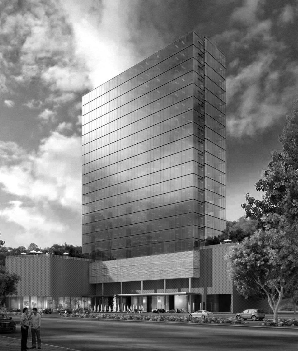 One O One | Santa Fe PROYECTO Renta de Oficinas Corporativas, en un moderno edificio de 21 niveles, con una excelente distribución que brinda el 90% de eficiencia entre los metros rentables y usables; ubicado en la mejor zona de Santa Fe y el Centro Comercial SERVICIOS Oficinas y área comercial
