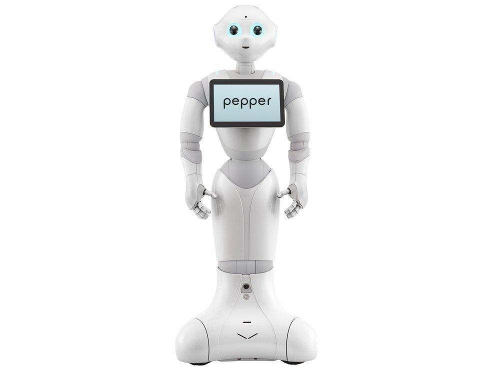 Pepper The Robot From Softbank Robotics | Buy Pepper Robot | Pepper Software Development