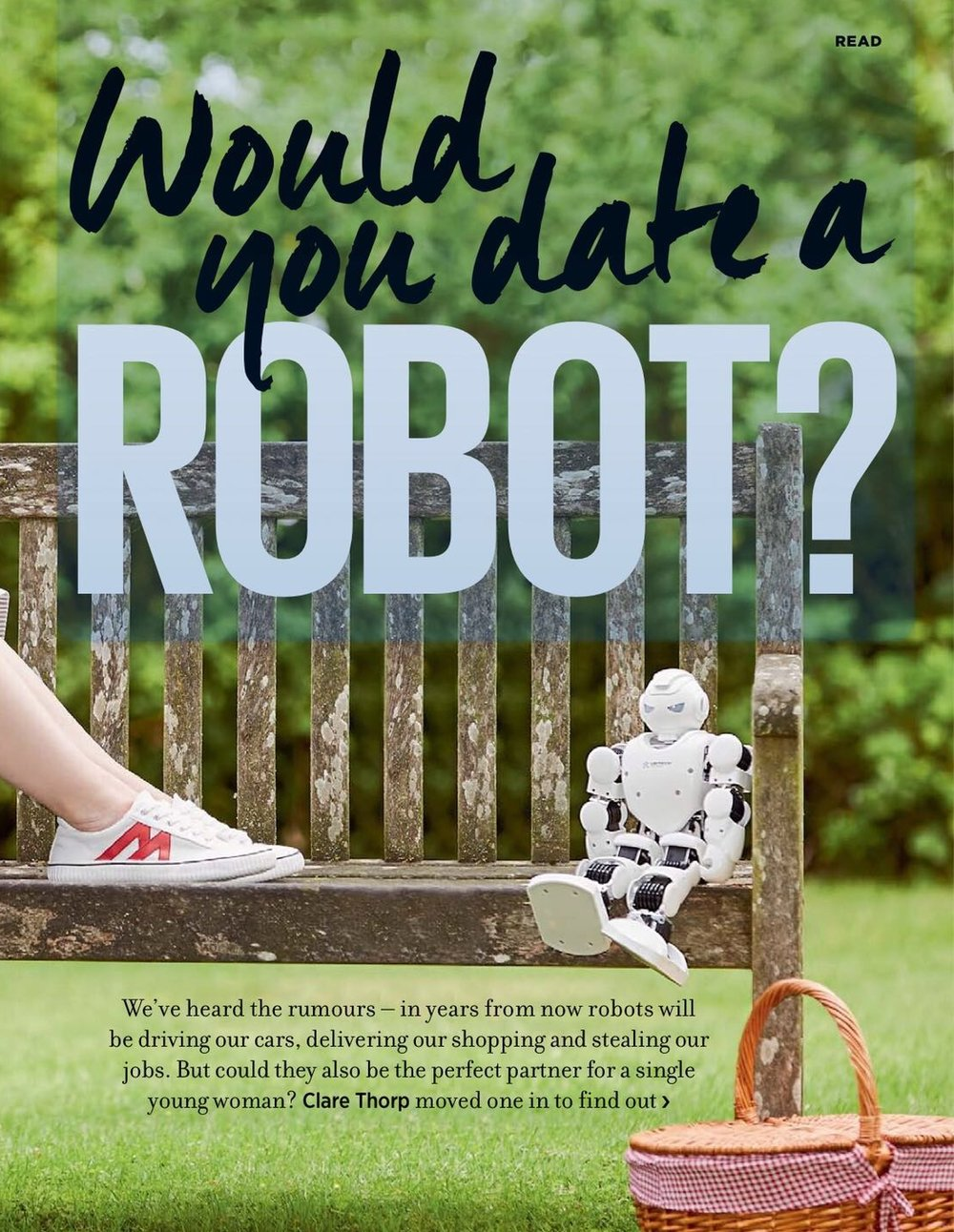 Pepper The Robot In Magazines | Cosmopolitan