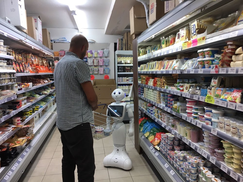 Robot Retail Assistant