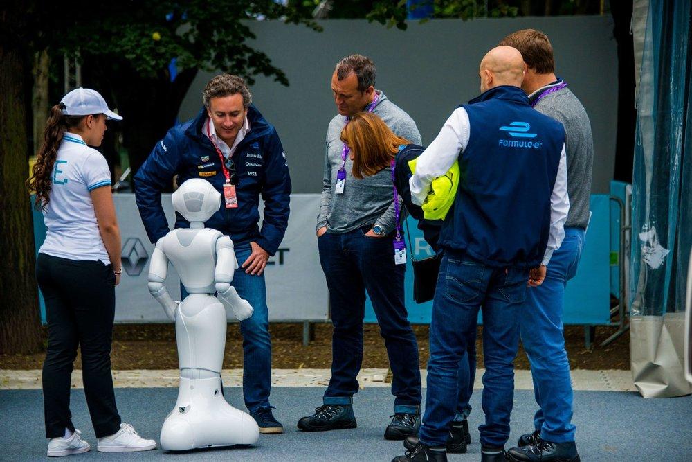 Robot For Awareness & Entertainment