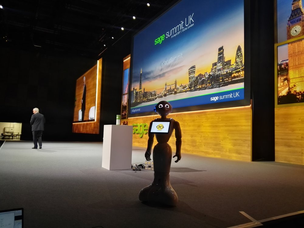 Robot Keynote Speaker