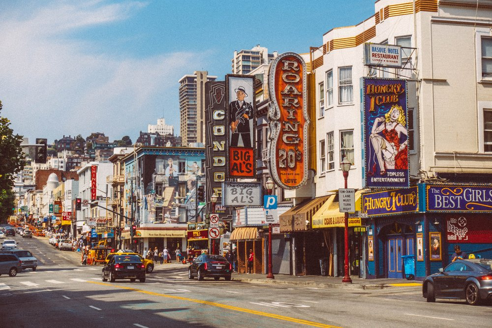 Mission District in San Francisco