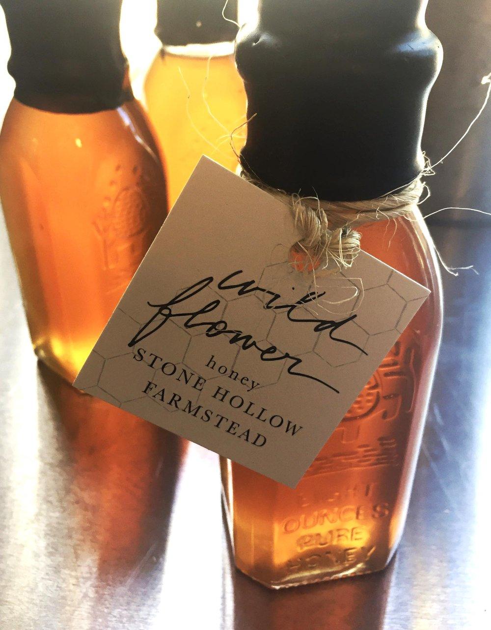 Wild Flower Honey / Stone Hollow Farmstead CSA