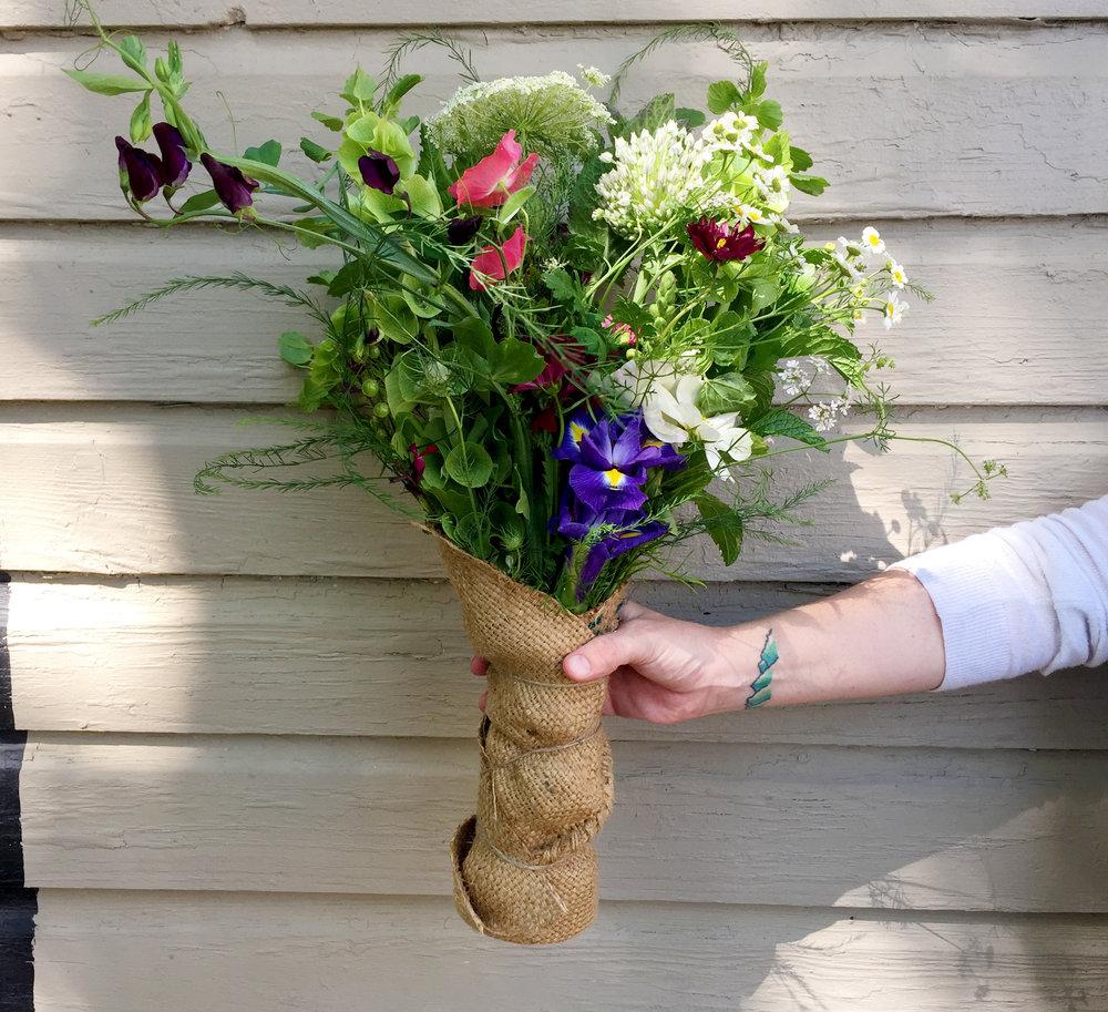 Stone Hollow Farmstead Fresh Flower Bouquet