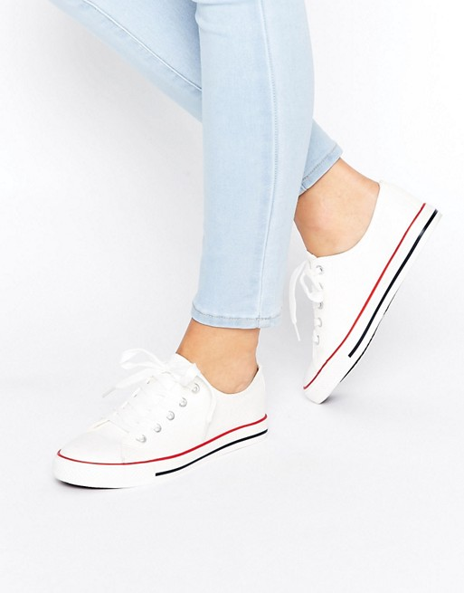 New Look Clean Lace Up Sneaker
