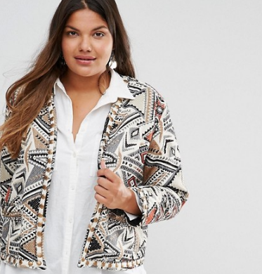 Alice & You Jacquard Trophy Jacket