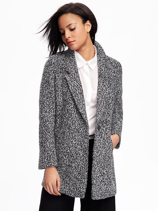 Marled Everyday Coat for Women