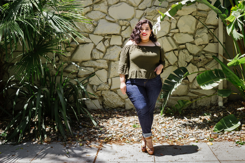 The Giselle High Rise Skinny - #MYCURVESMYWAY