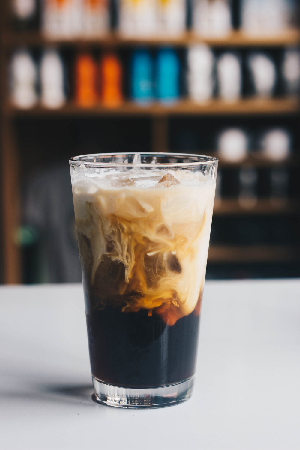 Iced Cold Brew w/ Farm Cream:  Smooth and sweet, aka the epitome of what a damn good cold brew should taste like.