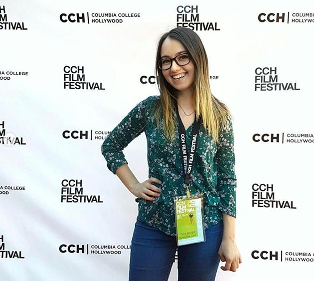 CCH Filmmakers: Don't forget to register for your Creators Badge!  Repost from CCH Alum and filmmaker @clairelebigot: When I was on the red carpet at CCH Film Festival! 😎🎥🎬📷creds: @shayannetonne . . . .  #cchfilmfest2018 #cchfilmfestival #cchfilmfest #columbiacollegehollywood #shortsfestival #collegefilmfest #redcarpet #pose #creator #filmfestregistration