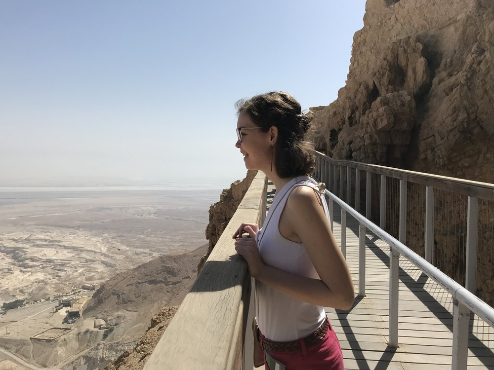 Julianne @ Masada, Israel