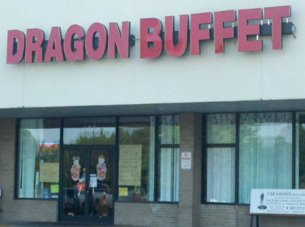 Dragon Buffet - 165 University Plaza Dr, Martin, TN 38237(731) 587-8882