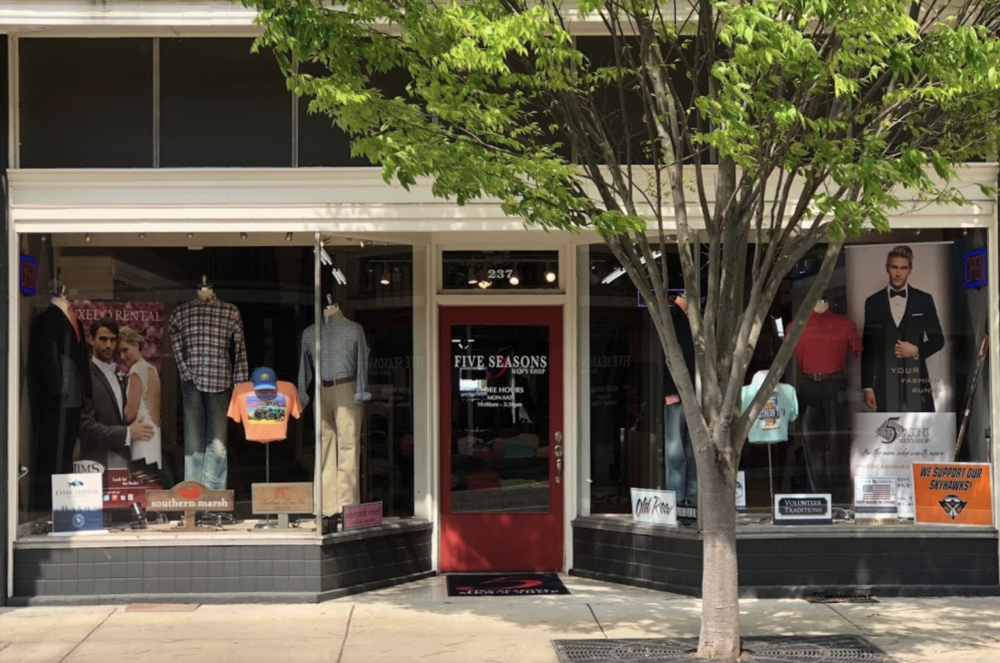 Five Seasons Mens Shop - 237 S Lindell St, Martin, TN 38237