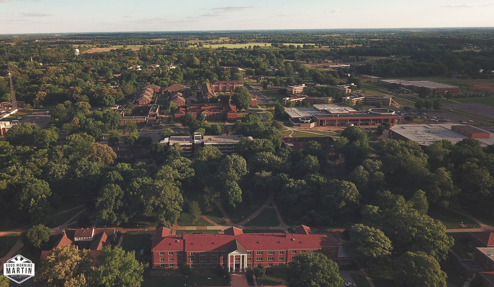 A current photograph of the University of Tennessee at Martin.