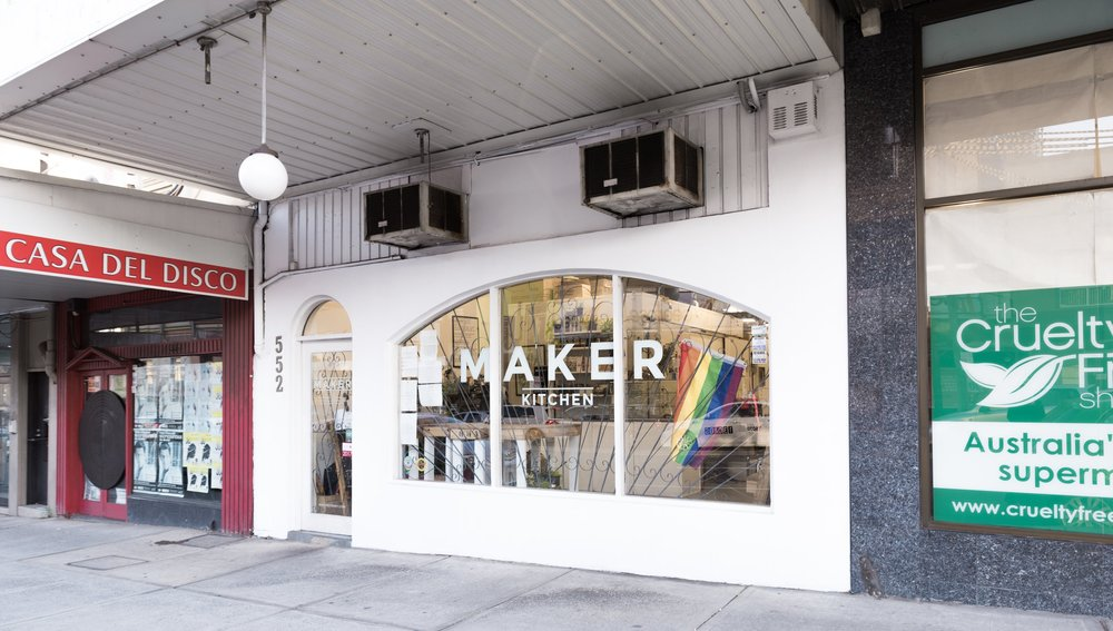 MAKER is Sydney's first all vegan shared commercial kitchen space - Pic: @bejonesce