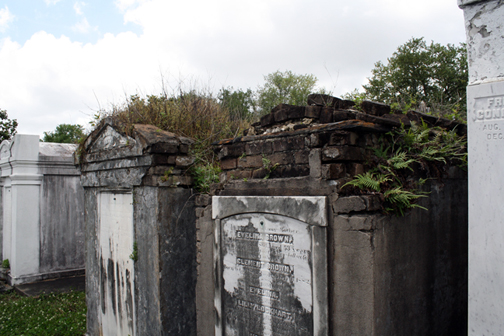 The weathered tombs were what I really came to New Orleans to see.