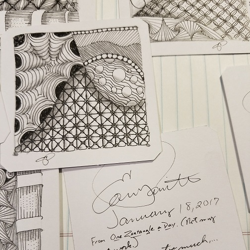 Zentangles / creative journals
