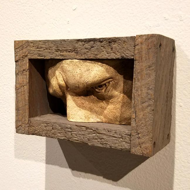 Jose Acosta Sculpture in a Box