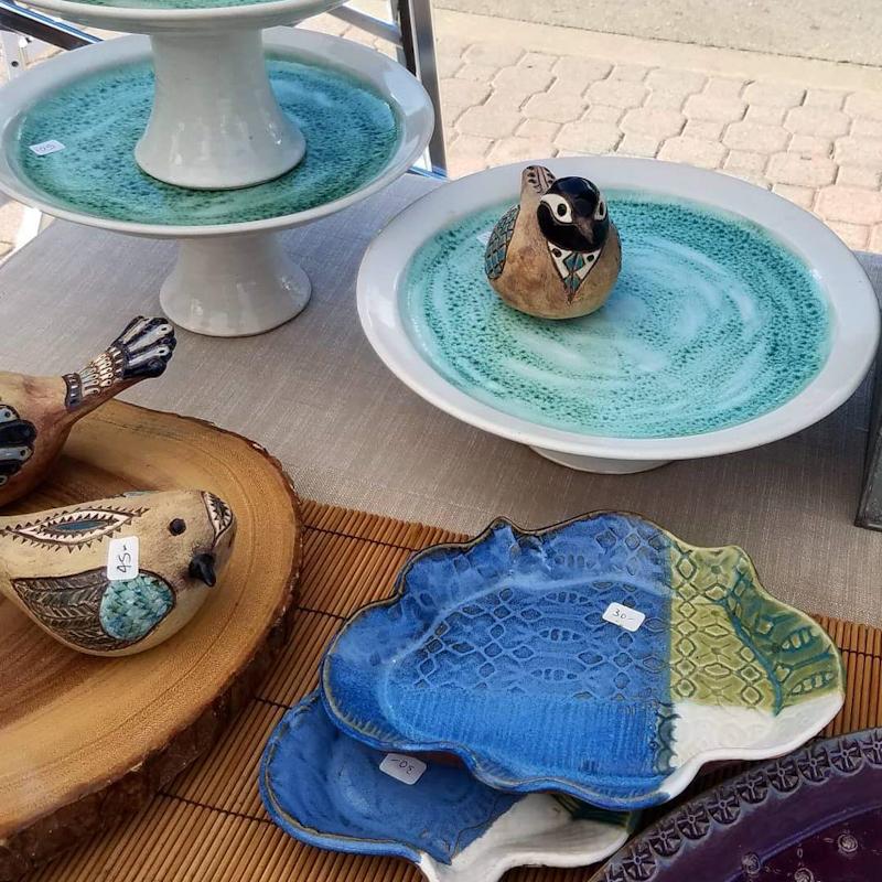 Ceramic Bird with Attitude 1