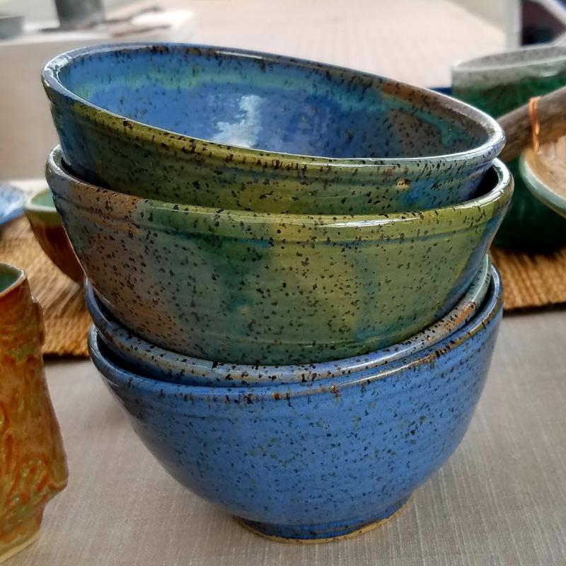 Speckled Ceramic Bowls