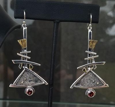 New Barry Earrings for the Edom Art Festival, 2018