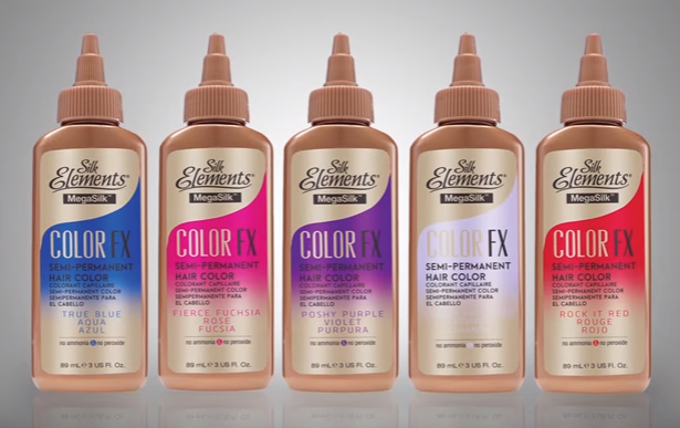 What are some retailers of Silk Elements hair products?