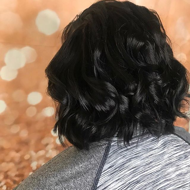 One hairstyle that never goes out of style, the BOB and this layered bob by @insidegabbisbeautyroom is gorgeous! She used our Strength & Silk Thermal Styler. #SilkElements