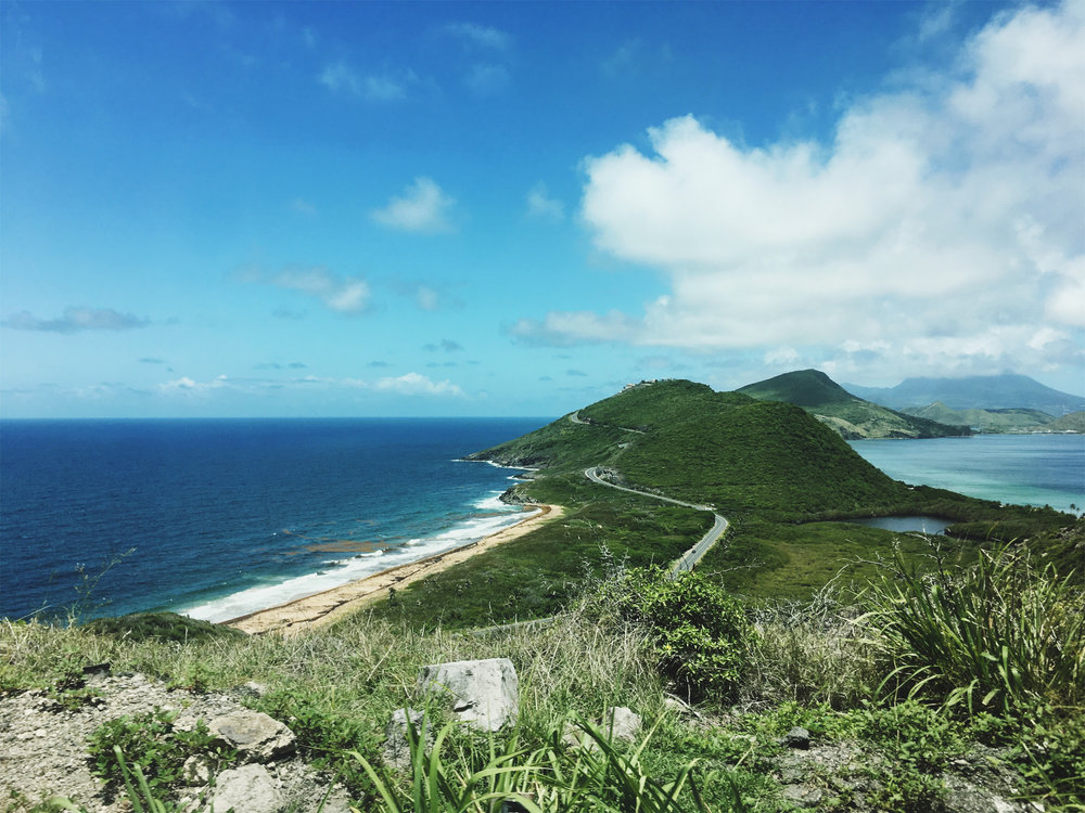 """Cradle of the Caribbean"", where the wild Atlantic meets the calm Caribbean."