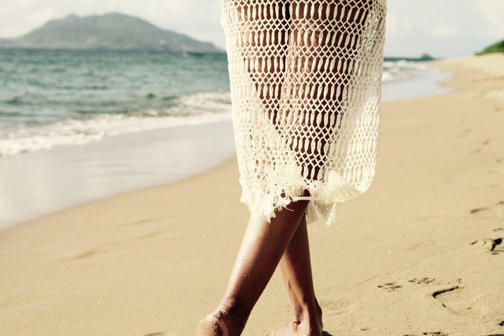 Pinneys Beach / skirt by Jaline Resort