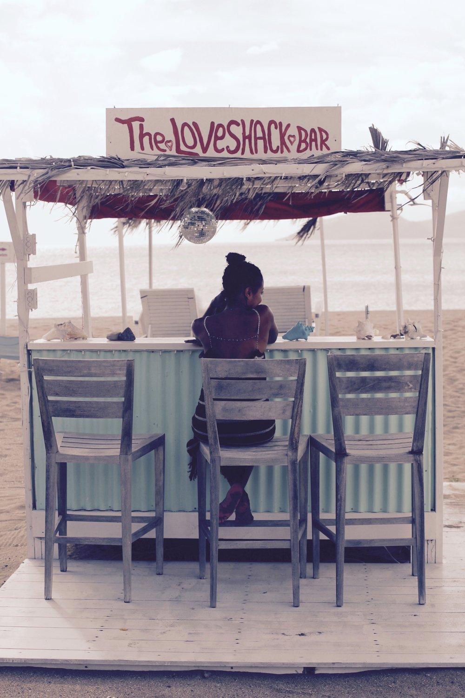 Chrishi Beach Club. Dress By Jaline Resort