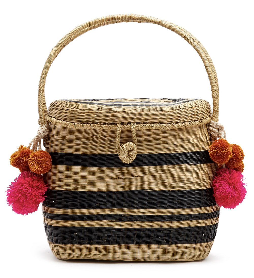 Sophie Anderson Cinto wicker basket bag