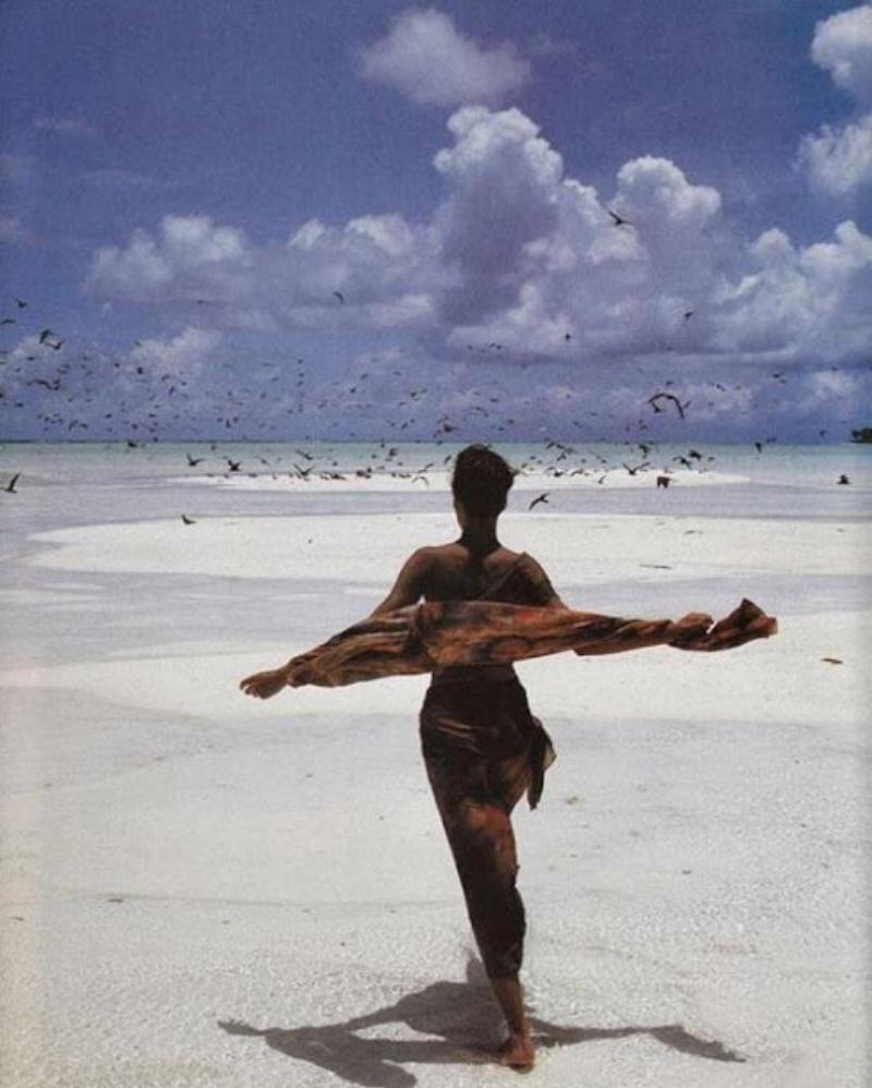 Linda Evangelista for Vogue Italia May 1989