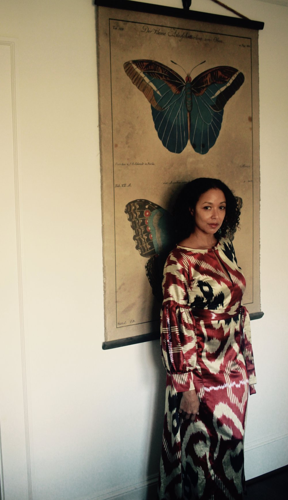 ZAZI VINTAGE / THE CAFTAN CLIQUE AT HOME