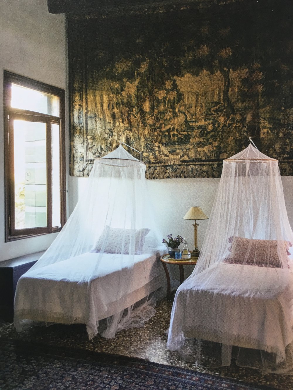 The  home of Jane Da Mosto as featured in The Authentics by Melanie Acevedo and Dara Caponigro