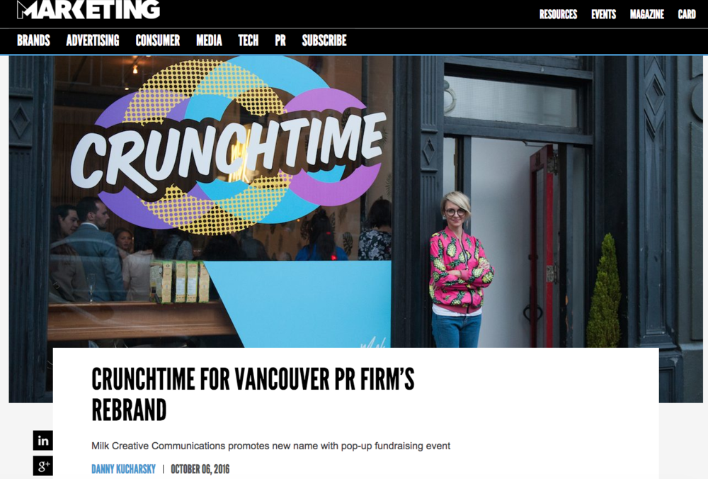 Crunchtime Cereal Bar - Marketing Magazine
