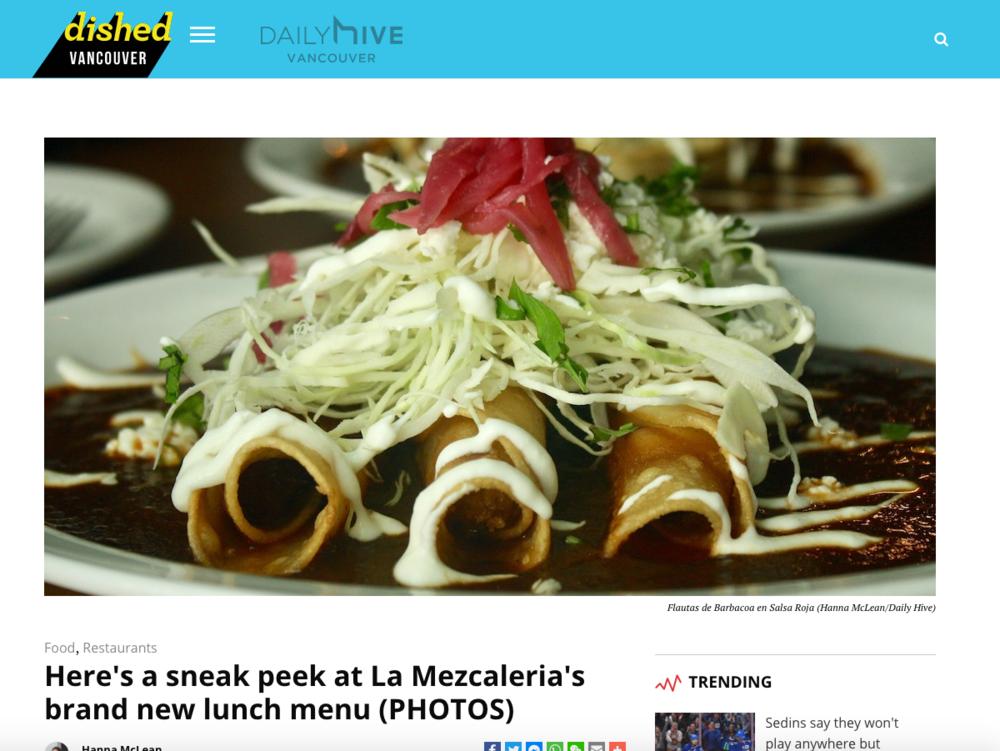 La Mezcaleria - Daily Hive