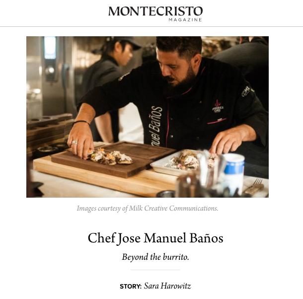 Sabores CDMX - Montecristo Magazine