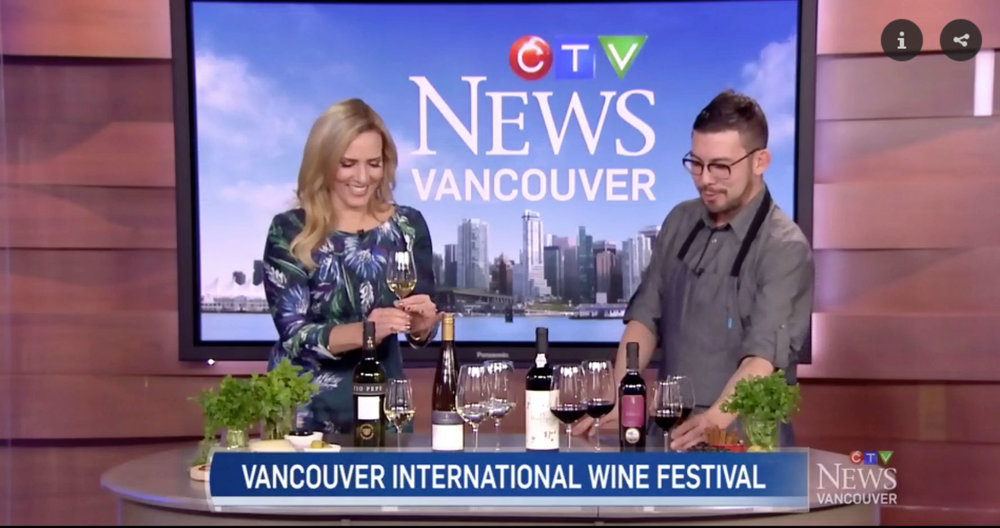 Vancouver International Wine Festival - CTV Vancouver