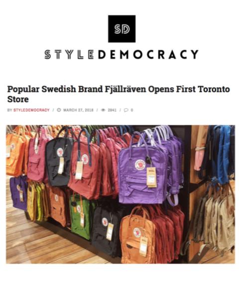 Fjällräven - Style Democracy