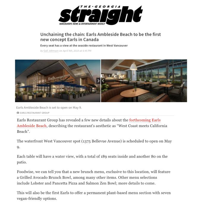 Earls - Georgia Straight