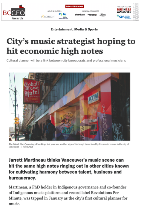 Blueprint - Business in Vancouver