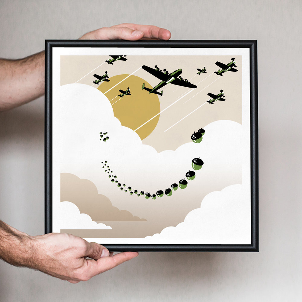 HappyBombs-Environment-Acorn-Drop-WallArt.jpg