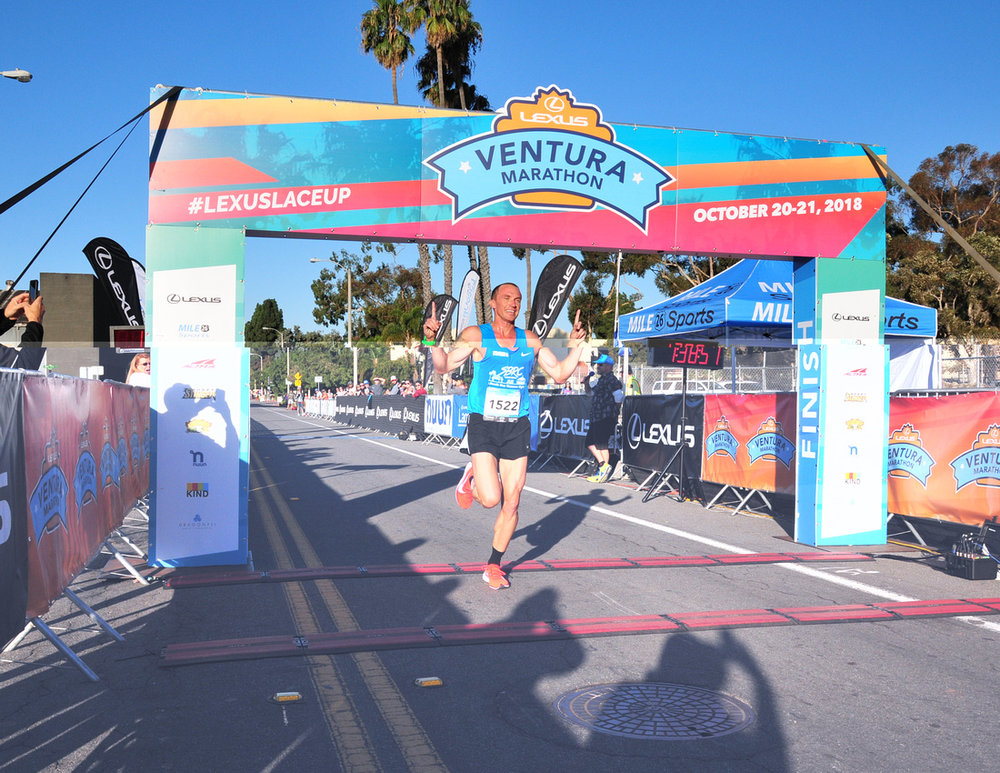 The Ventura Half Marathon was a great race, and I was excited to run within 10 seconds of my pr on a solo effort, but I struggled to recover from the effort and was not able to workout for a week after the race.